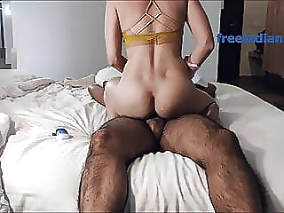 INDIAN GF HAS HARDCORE FUCK WITH BF IN HOTEL asian babe blowjob